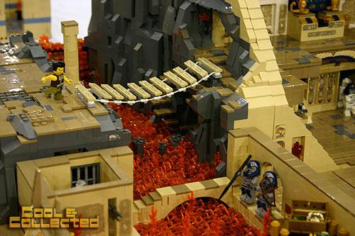 Lego pharoah's escape