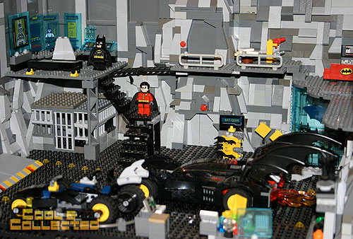 lego brick fair 2012 Batman bat cave