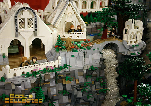 lego brickfair 2012 Rivendell from Lord of the Rings