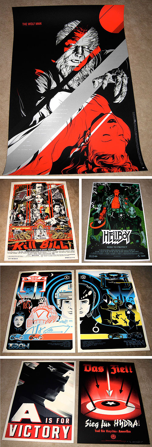 mondo poster collection