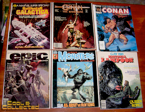 monster magazines collection