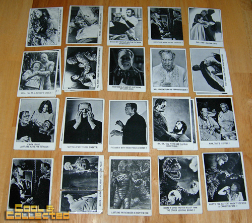 monster trading cards