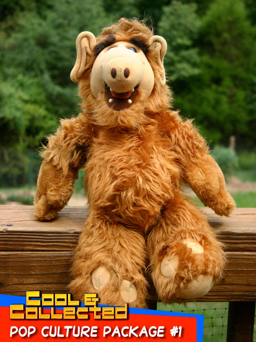 pop culture package - Alf doll
