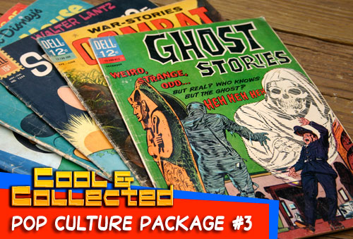 pop culture package - vintage comic books