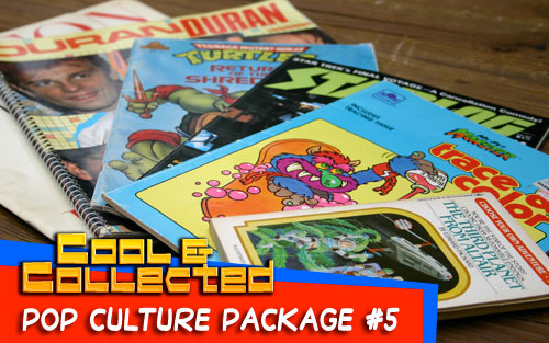 pop culture package - 80's books