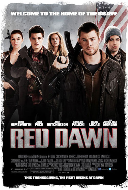 red dawn movie poster 2012