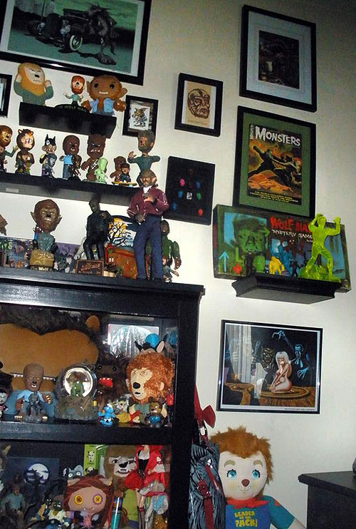 Aunty Donut's wolfman and werewolf collection