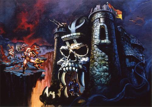 castle grayskull art