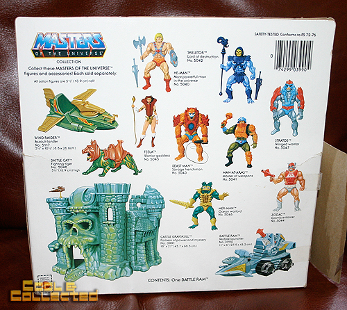 masters of the universe battle ram box