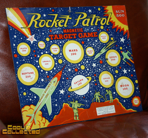 vintage rocket patrol target game