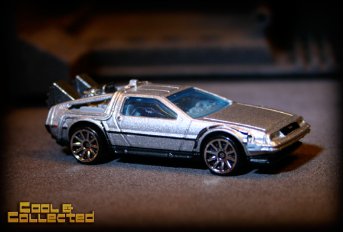 hot wheels delorean back to the future