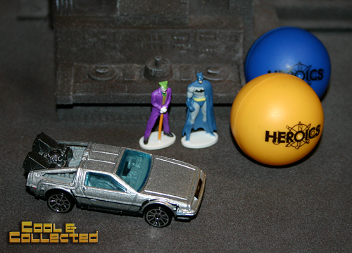 hot wheels delorean and batman