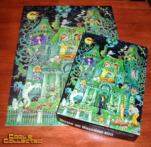 Springbok House on Haunted Hill puzzle