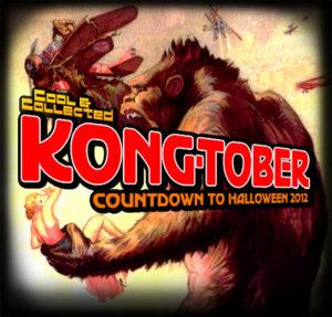 kong-tober -- countdown to halloween