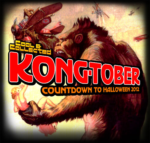 kong-tober -- countdown to halloween