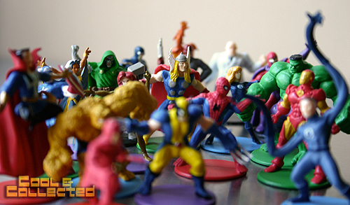 yard sale finds marvel heroes