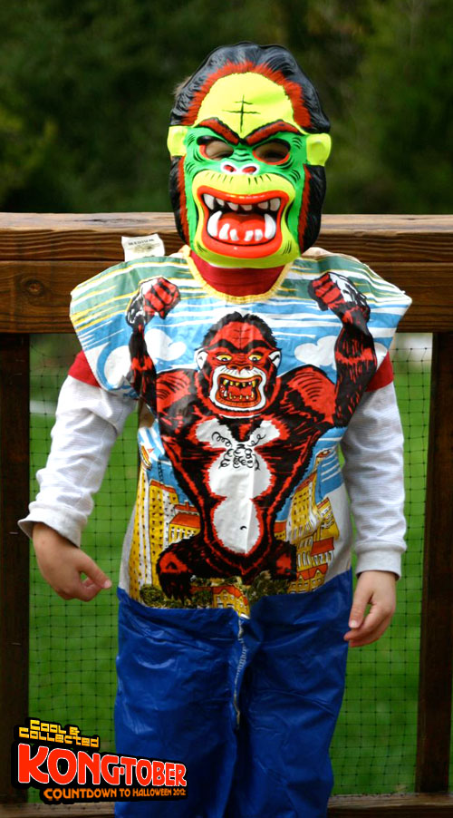 vintage collegeville king kong gorilla costume
