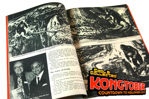 famous monsters of filmland #125 featuring King Kong