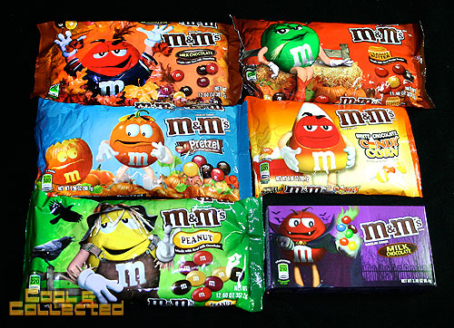 halloween 2012 m&m's candy