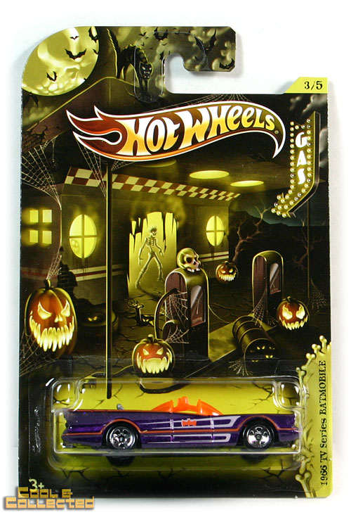2012 hot wheels halloween batmobile