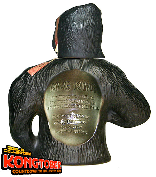 jim beam king kong decanter 1976