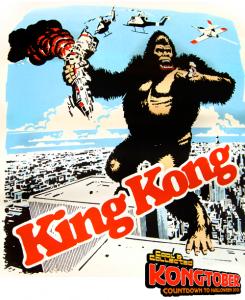 king kong 7-11 promo poster