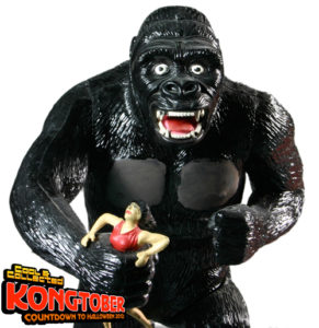 vintage 1966 king kong aurora model