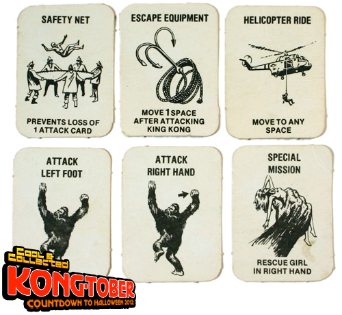 1976 king kong board game by ideal