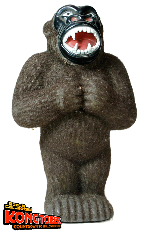 king kong flocked coin bank