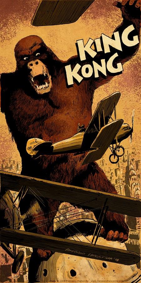 king kong by francesco francavilla