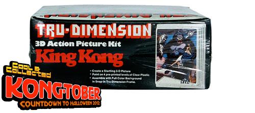 king kong tru-dimension 3d kit
