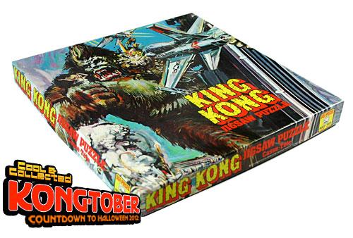 1970's king kong jigsaw puzzle