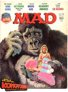 king kong mad magazine #192