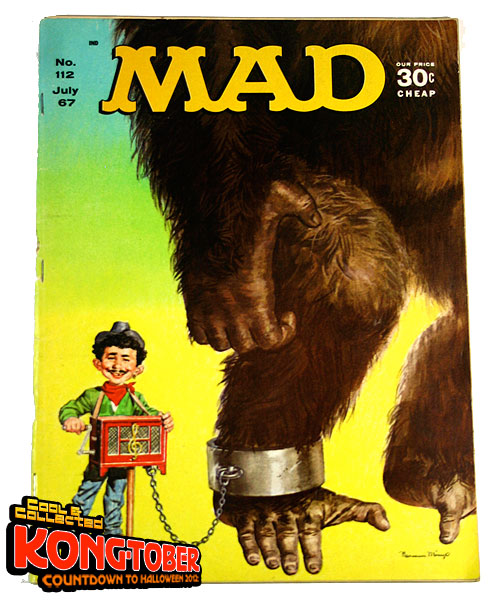 mad magazine king kong - July 1967