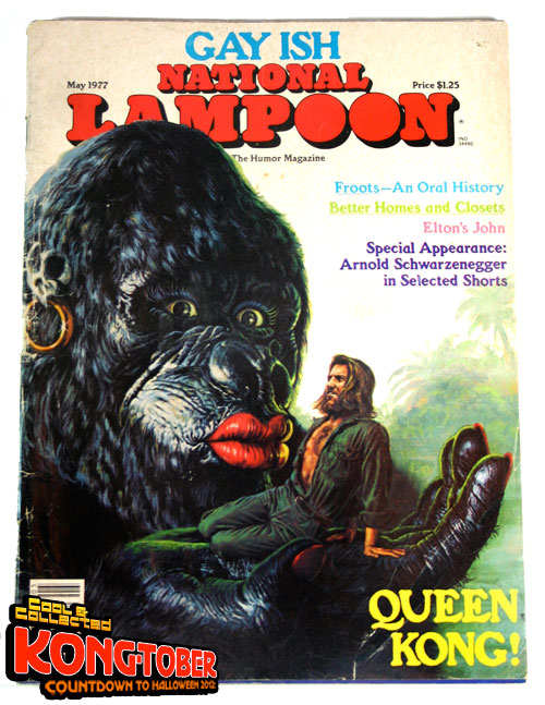 national lampoon king kong -- may 1977