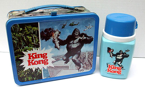king kong lunchbox