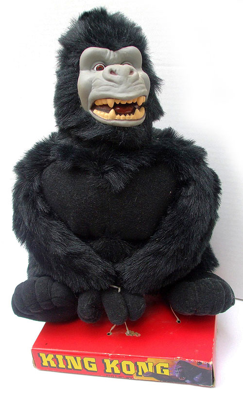 1991 king kong plush