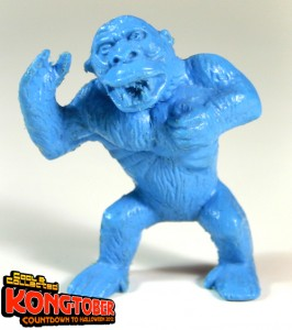 1964 palmer plastic king kong monster figure blue