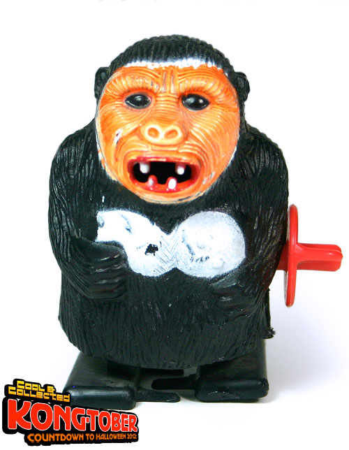 wind-up king kong toy figure