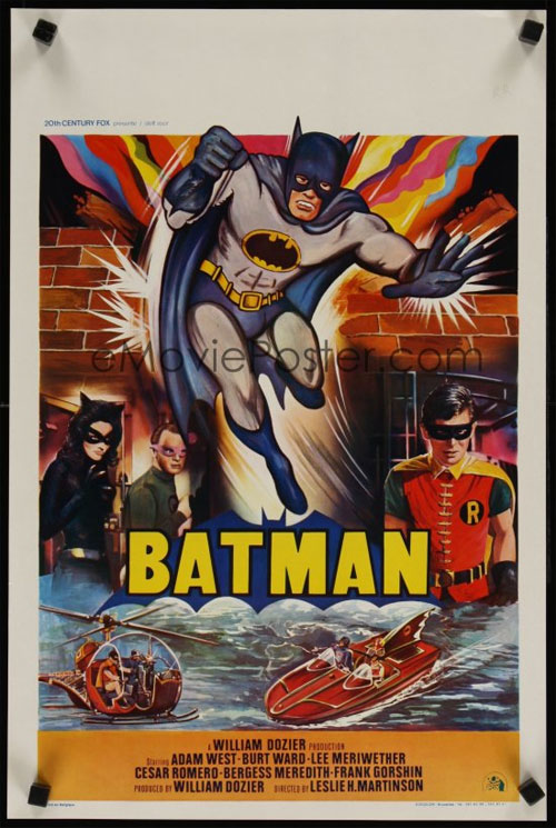 batman belgian movie poster