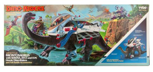 dino-riders brontosaurus