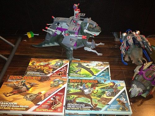 dinoriders lot of 80's toys
