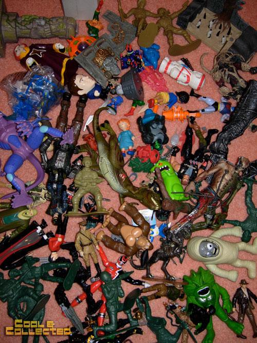 fire sale toy lot