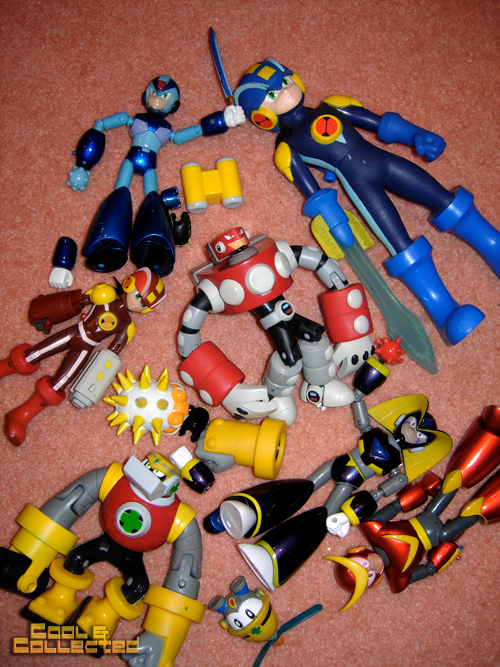 mega man action figures for sale