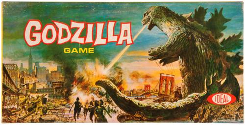 godzilla board game ideal