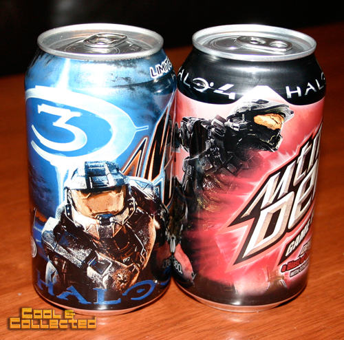 halo 4 mountain dew can