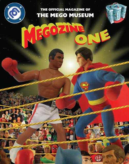 megozine #1 magazine cover