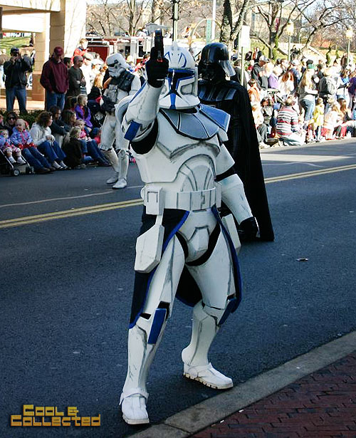 reston holiday parade 501st Legion Star Wars clone trooper