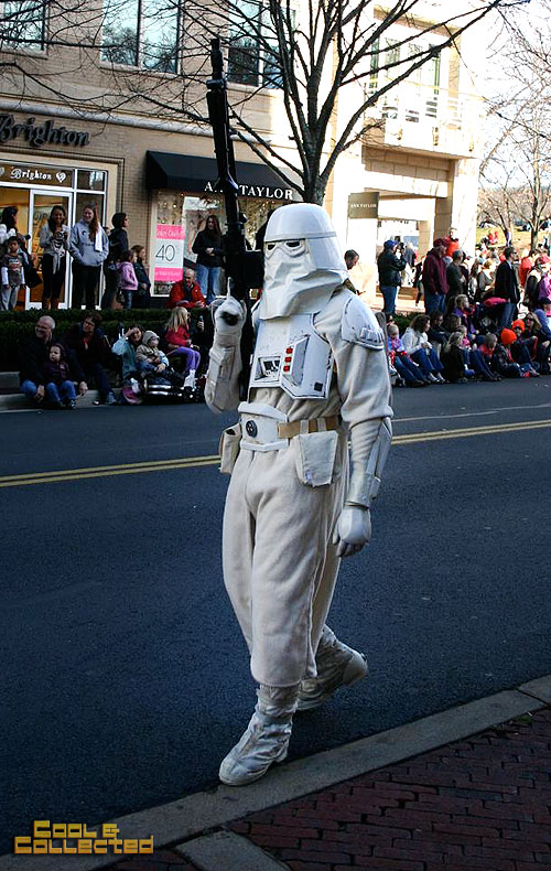 reston holiday parade 501st Legion Star Wars snow trooper