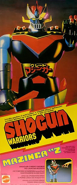shogun warriors mazinger z